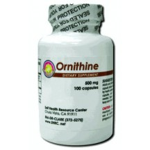 Ornithine 500 mg (100 Capsules)